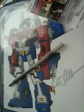 "Peter Cullen "" Transformers "" Signed 8x10 Photo Autograph JSA COA Optimus Prime"