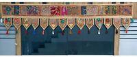 "70"" Indian Patchwork Embroidered Door Valances Toran Wall Hanging Home Decor"