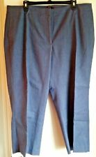 """NEW WITH TAGS! TALBOTS Plus 18W """"Chelsea"""" Crop Pants-Luxe Refined Denim"""