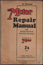MOTORE Riparazione Manuale per il proprietario Driver & DILETTANTE MECCANICO 8th Edizione Tempio Press