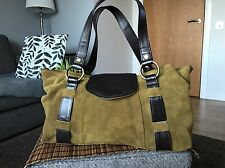 Tommy& Kate ladies suede shoulder bag handbag
