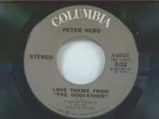 "PETER NERO ""GODFATHER THEME / A LOVE THAT NEVER ENDS"" 45 NEAR MINT"