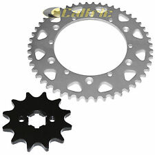 Front & Rear Sprockets Kit Fits YAMAHA YZ100 1982 1983 / YZ125 1984 1985