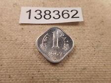 1967 India 1 Paisa - Very Nice Collector Grade Album Coin - # 138362