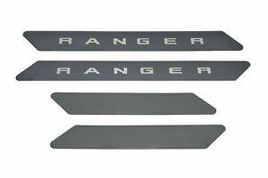 2019 2020 Ranger Putco Cargo Black Door Sill Protector 4 Piece Etched 95143BPFD
