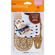 Cricut Cuttlebug Anna Griffin  ELEANOR LACES Cut and Emboss Dies RARE