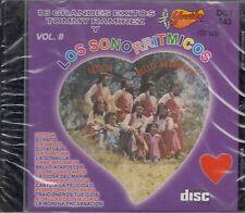 Tommy Ramirez y sus Sonorritmicos 16 Grandes Exitos Vol 2 CD New Nuevo sealed