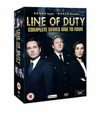 Line of Duty Series 1-4 DVD - Postage Free - Region 2 UK - Brand New