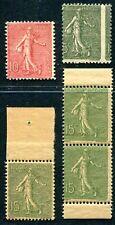 FRANKREICH 1903 Yvert 130l etc ** VARIANTEN 170€(K8046