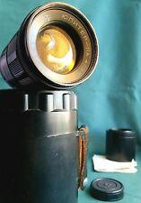 Jupiter 11A  f/4 135mm M42. Working manual Lens from USSR. Soviet Portrait lens.