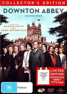 Downton Abbey: Season 4 With Tote Bag (Limited Edition) - Brand New DVD Region 4