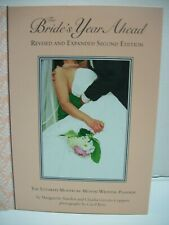 The Bride's Year Ahead The Ultimate Month by Month Wedding Planner Book Nice Vgc