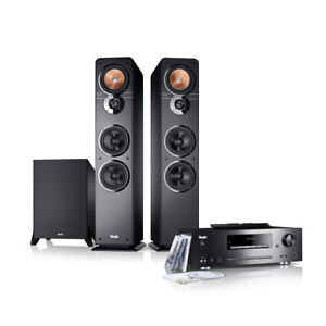 Teufel Ultima 40 Kombo Power Edition Stereo Soundanlage Musik Bass CD-Receiver