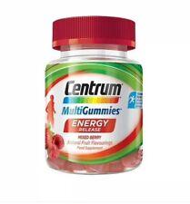 3x Centrum MultiGummies Energy Release Mixed Berries 30 gummies