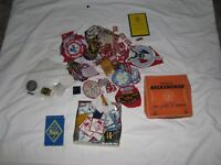 VINTAGE LARGE LOT 100+ BOY SCOUTS OF AMERICA PATCHES PINS Cub BSA jamboree