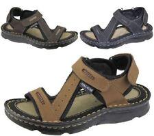 Sandales en synthétique avec attache auto-agrippant pour garçon de 2 à 16 ans