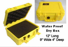 Dry Box Water Proof Case Camera GPS Phone Scuba Dive wet protect floats strong