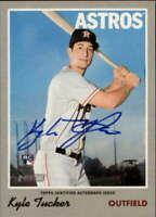 2019 Topps Heritage Real One Autograph #ROA-KT Kyle Tucker AUTO Astros