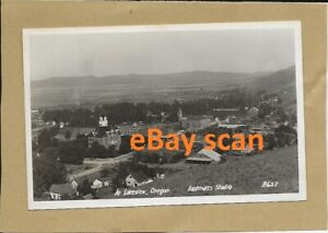 RPPC At Lakeview OR Oregon City View Eastman's Studio B627 Photo Postcard BP