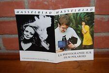 REVUE HASSELBLAD LA PHOTOGRAPHIE SUR FILM POLAROID 1975
