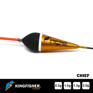 """POLE FISHING FLOAT - The Kingfisher """"Chief"""" Fishing Float Pack of 4 HIGH QUALITY"""