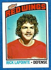 1976-77 Topps RICK LaPOINTE (ex) Detroit Red Wings