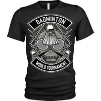 Badminton T-Shirt game World Tournament T-Shirt Unisex Mens