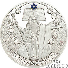 MOSES CROSSING THE RED SEA - Biblical Stories Silver Proof Coin - 2017 Palau $2
