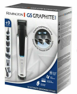 New Remington Graphite G5 Mens Electric Trimmer All-in-One Grooming Kit PG5000