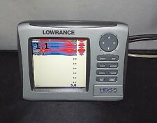 Lowrance HDS5 Nautic Insight Gen1  GPS and Fishfinder Combo Head Unit only