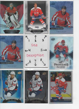 Washington Capitals ** SERIAL #'d Rookies Autos Jerseys ALL CARDS ARE GOOD CARDS