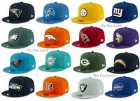 New NFL New Era Metal Thread 9FIFTY Mens Snapback Cap Hat