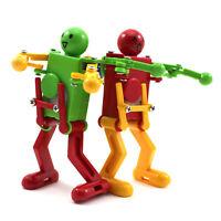 Fun Cute Dancing Robot Toy Children Kid Clockwork Control Wind Up Toy Favor Gift