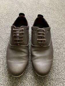 Brown Zara Faux Leather Mens Shoes EU 42 Size 8