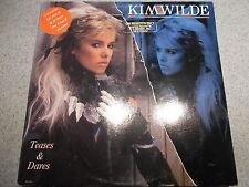 KIM WILDE    TEASES & DARES       LP   WITH INNER SLEEVE   449