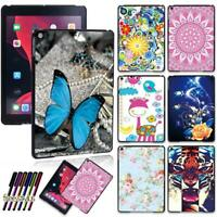 """Colorful Patterns Hard Shell Case Cover For Apple iPad 10.2"""" 2019 7th Generation"""