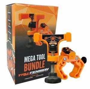 TRU TENSION Monkey Mega Tool Motorradkettenspann- und Lazer Kettenfluchtwerkzeug