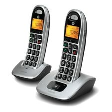 Motorola CD302 Duo Großtasten-DECT-Telefon Schnurlostelefon Seniorentelefon