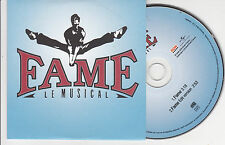 RARE CD CARTONNE CARDSLEEVE 2T JULIE VICTOR FAME LE MUSICAL DE 2008