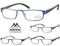 Occhiali da Vista da Lettura Montana MR87 in Metallo gommato e Lenti Asferiche