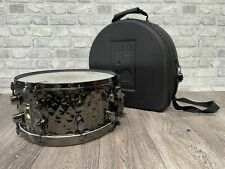 """Mapex Black Panther 14"""" x 6.5"""" Hammered Finish 8 Lug Snare Drum #SN109"""