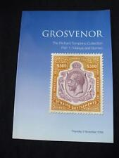 "Grosvenor auction catalogue 2006 malaisie et bornéo ""richard tompkins's collection"