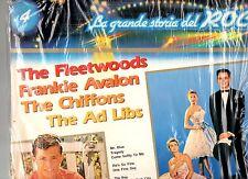 FLETWOODS FRANKIE AVALON CHIFFON AD LIBS disco LP 33 giri GRANDE STORIA ROCK 4