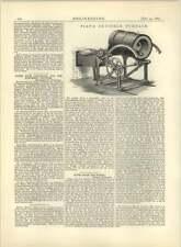1883 piat'S OSCILLANTE forno a crogiolo, Morgan, BATTERSEA
