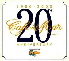 CAFE DEL MAR = 20th Anniversary =2CD= DOWNTENPO AMBIENT CHILLOUT LOUNGE !!