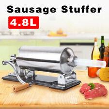 48lkitchen Sausage Stuffer Grinder Maker Meat Filler Machine Stainless Steel