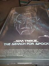 STAR TREK III THE SEARCH FOR SPOCK MOVIE POSTER (J1)