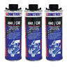 3 x DINITROL 4941 UNDERBODY CHASSIS RUST PROOFING BLACK WAX 1 LITRE CAN