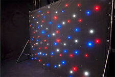 AVE Star Drape - LED DMX controlled curtain - INC Carry Bag - Full Australian...