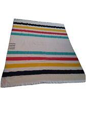 Hudson bay vintage 4 point blanket 87x67